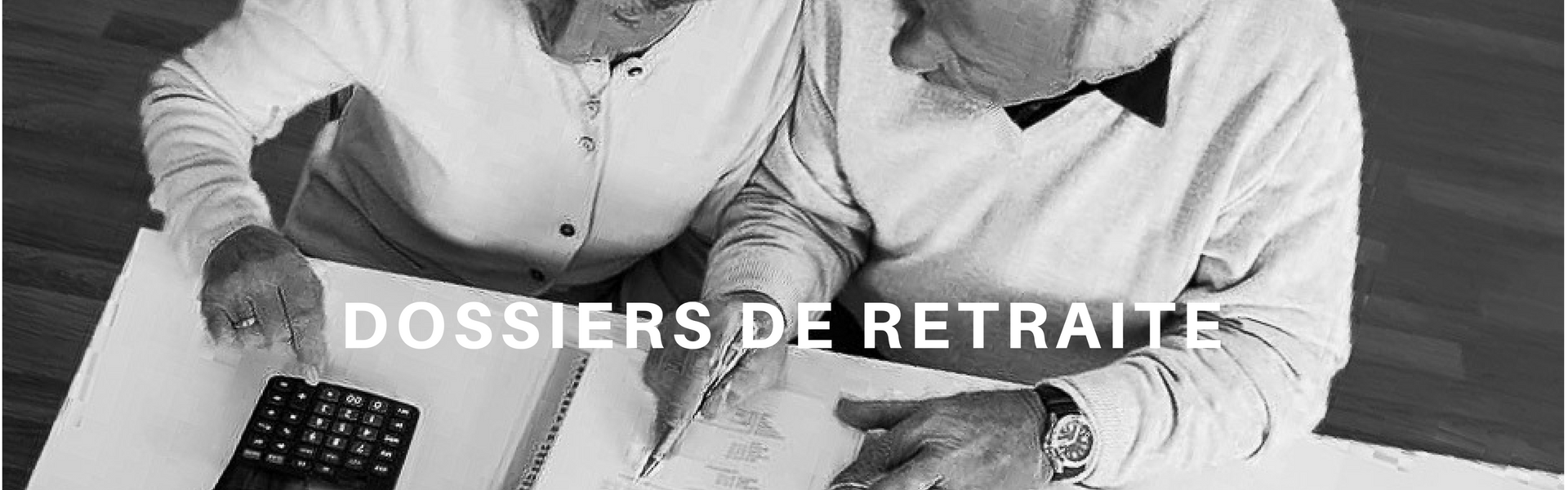 Diapositive Aide aux dossiers de retraite