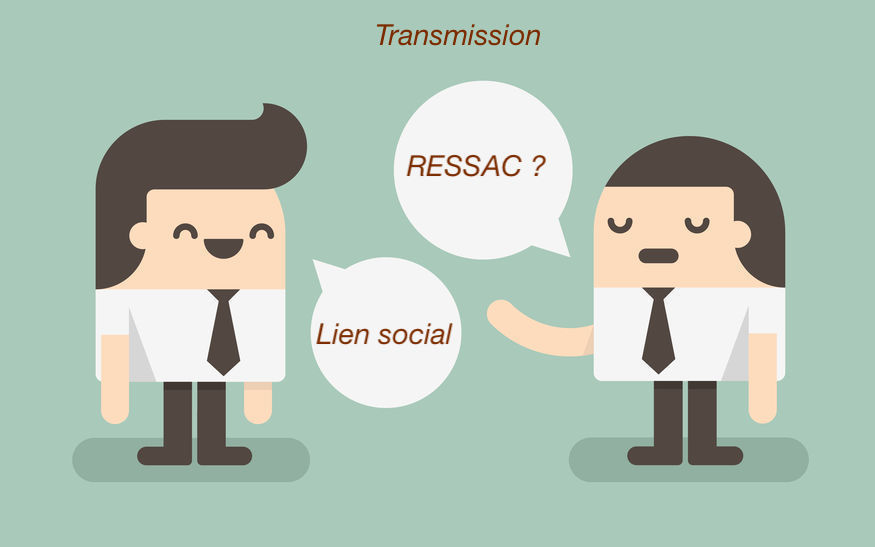 Transmission Lien social