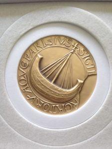 Medaille d'or de la Ville de Paris